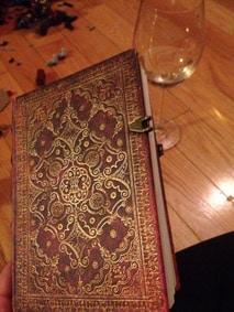Jaime Lee Mann author notebook