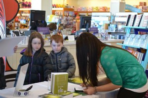 Legend of Rhyme book signing