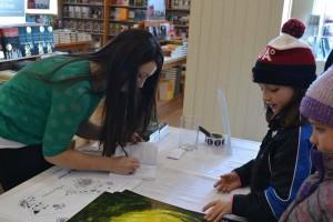 Jaime Lee Mann book signing