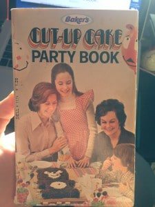 Cut Up Cake Party Book