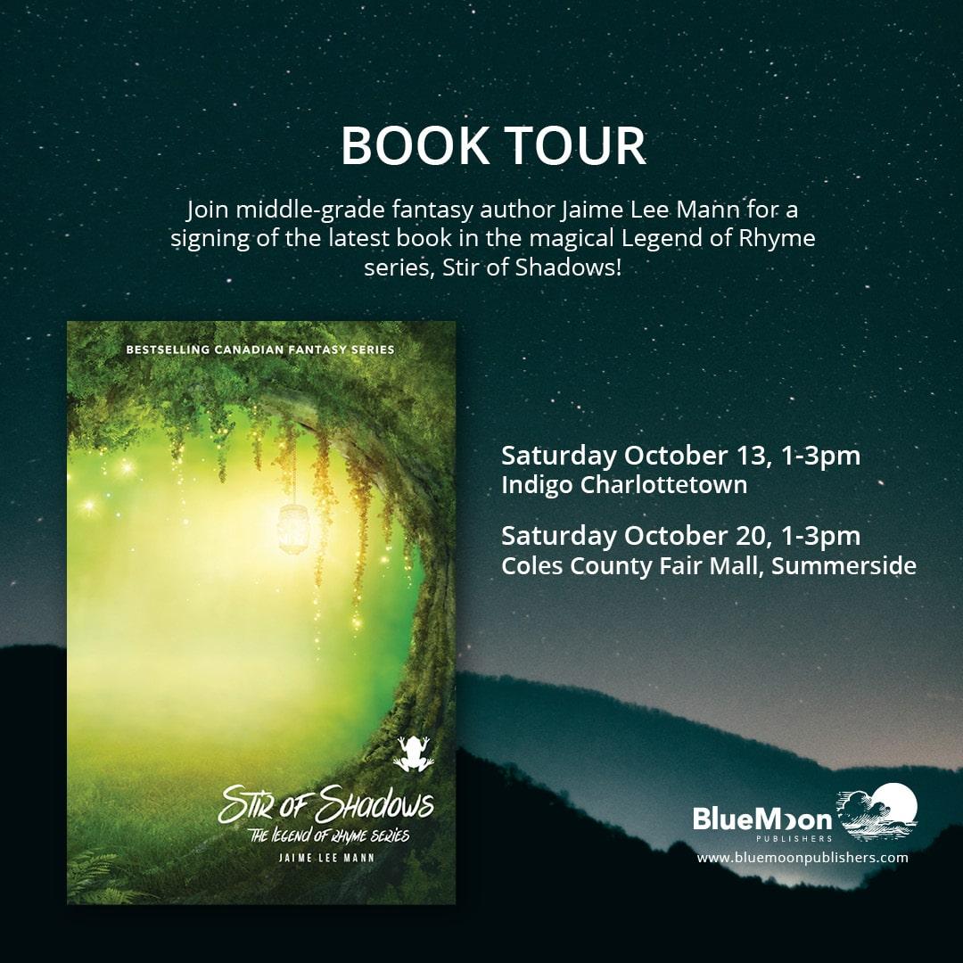 Jaime Lee Mann book signing in Charlottetown
