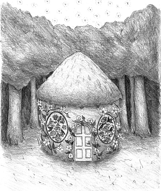 Calla's Cottage from Book 3 of the Legend of Rhyme by Jaime Lee Mann